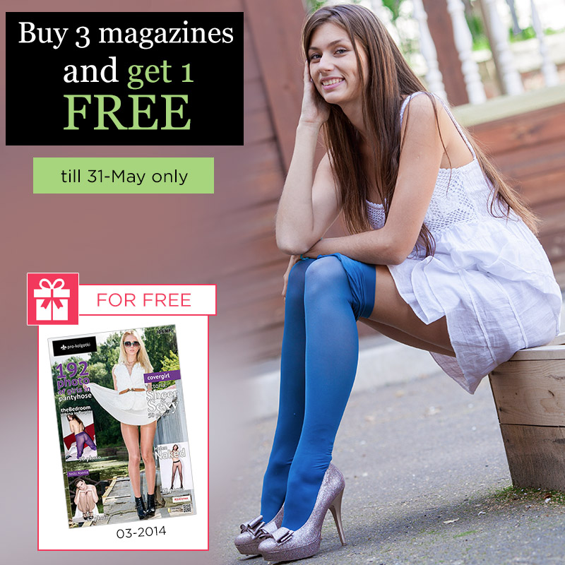 PROMOTION: buy 3 magazines and get 2 for free - till 31-May only