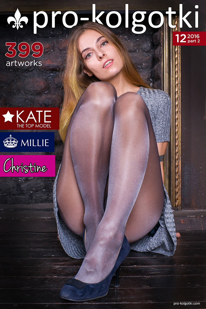 pantyhose girls photo - cover of pro-kolgotki 12-2016(2) women in pantyhose