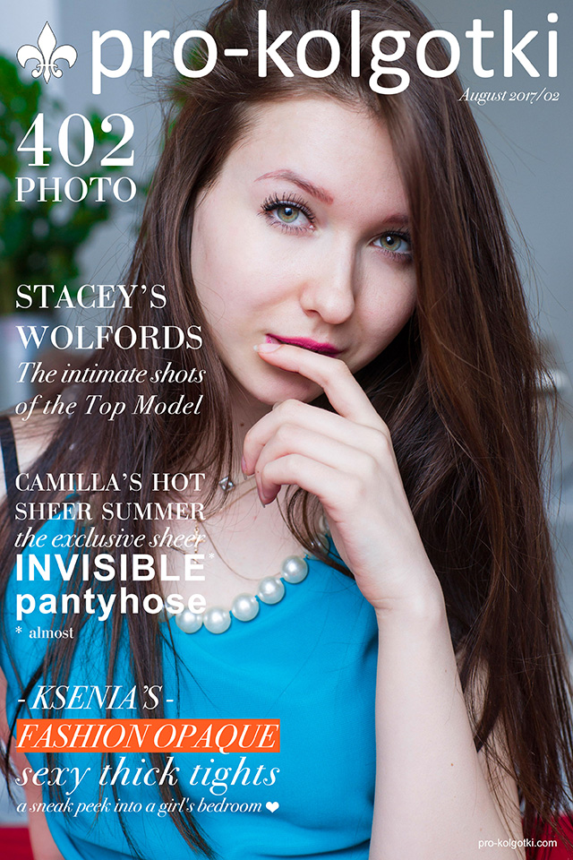 Pantyhose Magazine cover of August part 2