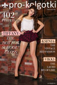 Girls in Pantyhose Photography Magazine COVER - June part 2