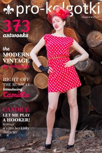Pantyhose Magazine cover of August part 1