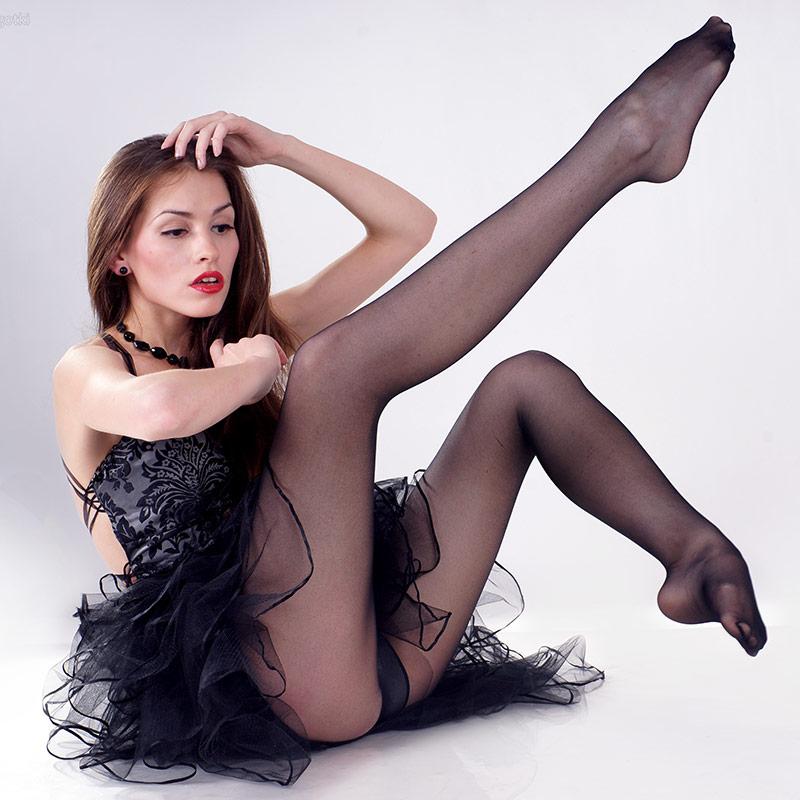 cute girl i luxury pantyhose