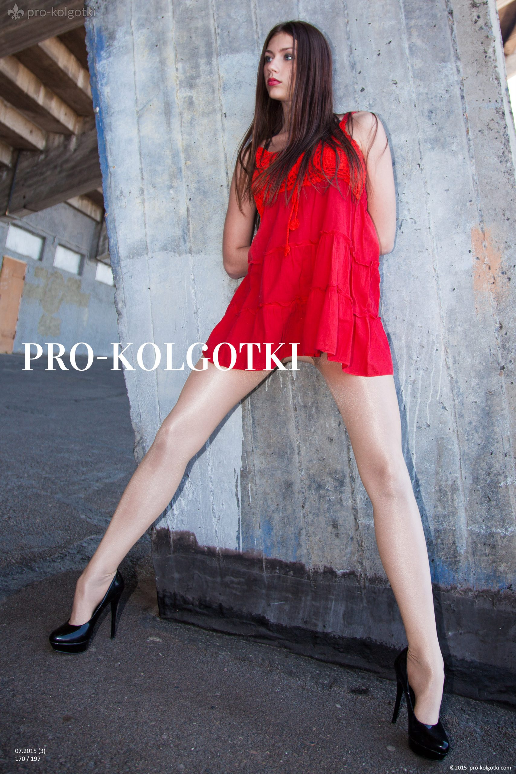 girls in pantyhose - photo from pro-kolgotki magazine July 2015-07(3)