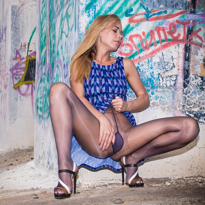 Women in pantyhose. PRO-KOLGOTKI 2016-08(2)