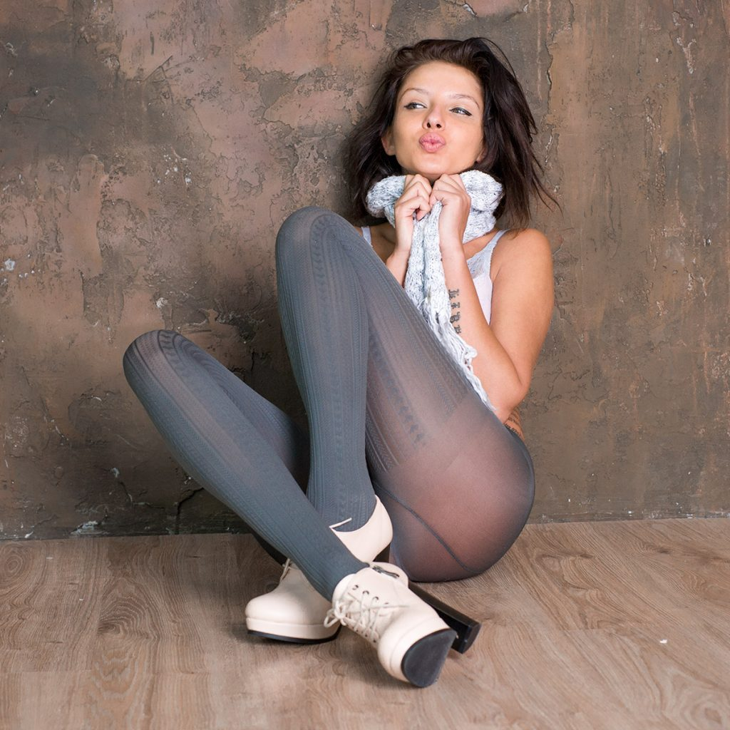comfort pantyhose VOGUE - model: Veronika Evdokimova