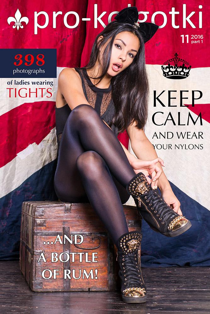 Cover of Pantyhose Magazine pro-kolgotki 11-2016(1)