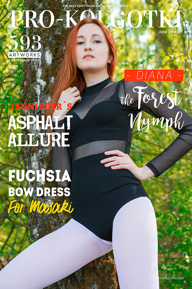 Cover of Women in Pantyhose Magazine PRO-KOLGOTKI 2018-06(1)