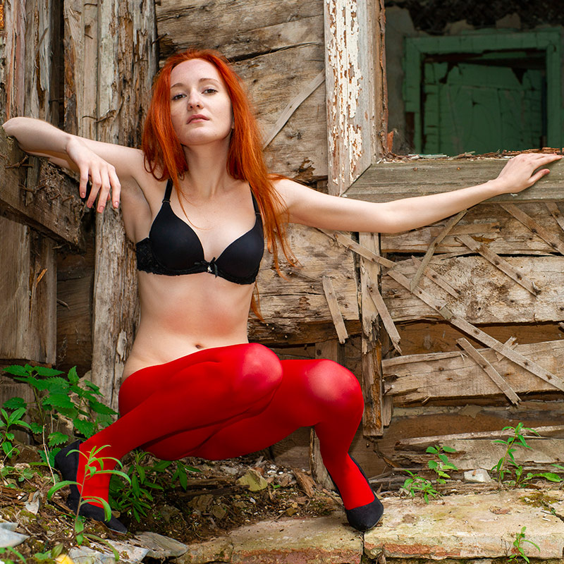 Women in pantyhose. PRO-KOLGOTKI 2018-07(2)