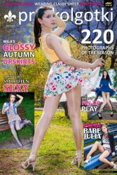 Cover of Pantyhose Magazine PRO-KOLGOTKI 2015-09
